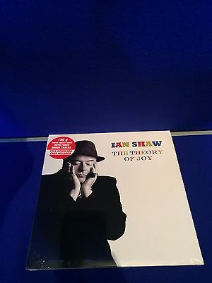 NEW SEAL Jazz Vinyl LP Ian Shaw The Theory of Joy Double Record Jazz Village