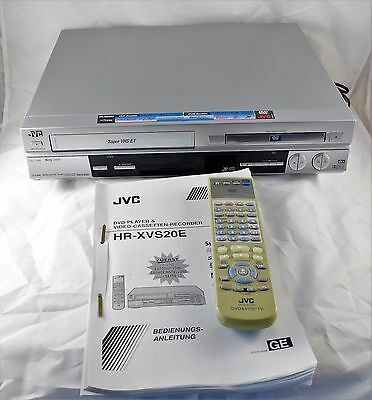 *- JVC - HR-XVS20E  - DVD-Player & S-VHS ET Recorder - ShowViev