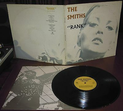 LP THE SMITHS Rank (Rough Trade 88 ITALY) 2nd ps new wave Morrissey inner EX!