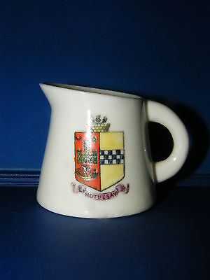 Antique Crested China Jug ~ Rothesay