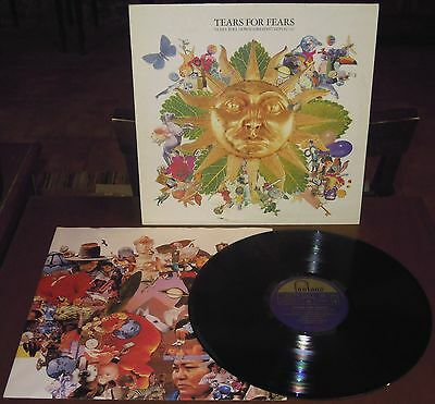 LP TEARS FOR FEARS Tears roll down (Fontana 92 EUROPE) 1st ps new wave inner NM!