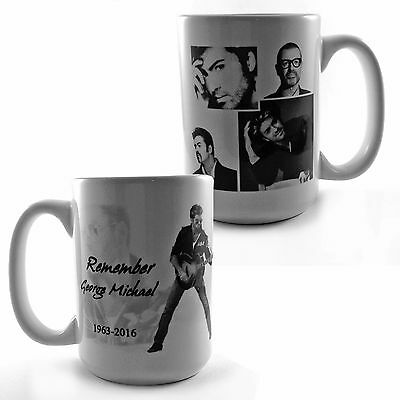Remember George Michael 1963-2016 Tribute Large 15Oz Mug Gift Present Music Fan