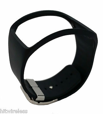 Original Samsung Galaxy Gear S Smart Watch Black Replacement Band ET-SR750