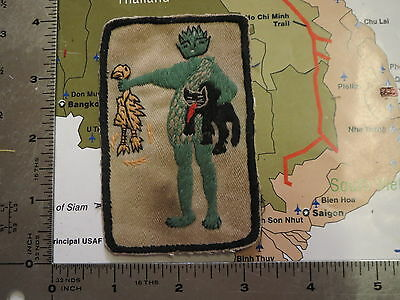 USAF , jolly green , Jolly Green Giant USAF   , great handsewn patch ,sold as is