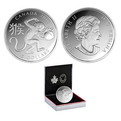 2016 1 oz. Fine Silver Coin – Year of the Monkey