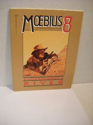 Moebius 8 Mississippi River Epic Comics GN RARE English collected works