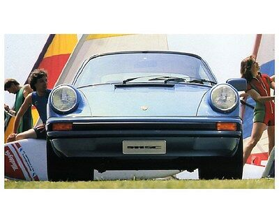 1981 Porsche 911 SC Factory Photo ca6053