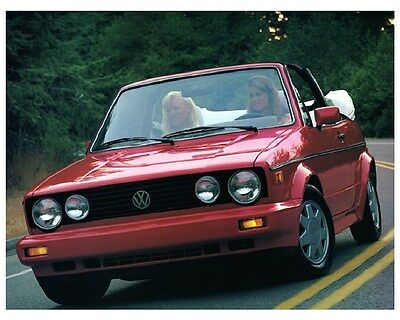 1988 Volkswagen Cabriolet Factory Photo ca6058