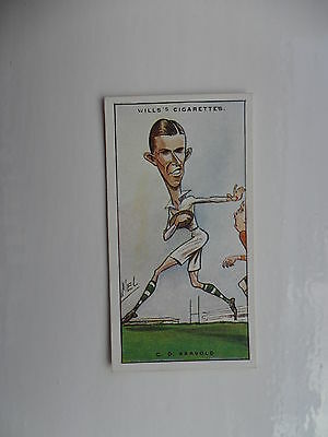 Wills' Rugby internationals cards 1929-choose the ones you need.