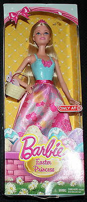 NEW Barbie Easter Princess Target Exclusive Doll box has some wear