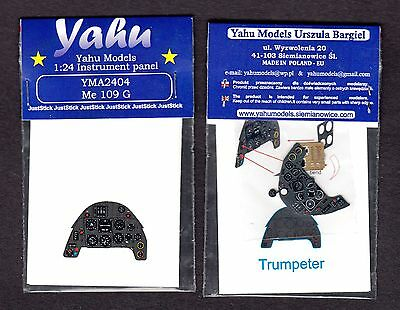yma2404/ YAHU - Messerschmitt Me-109 G - Instrument panel - 1/24