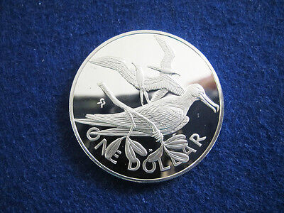 1978 Br. Virgin Islands Silver Proof $2 - Frigate Bird - Free U S Shipping