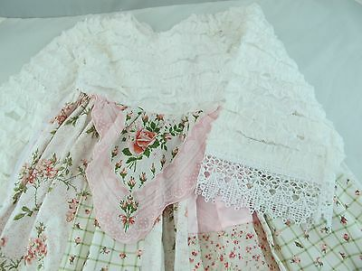Beautiful Seamstress Dress & bloomers Hankerchief Rose  4 Tall Himstedt doll