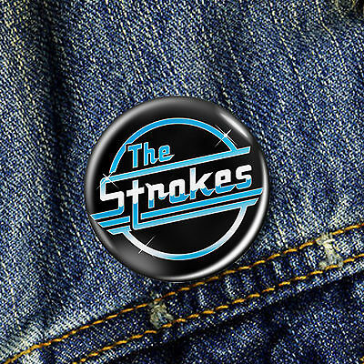 The Strokes Pin Button Badge 1 x 25mm Badge
