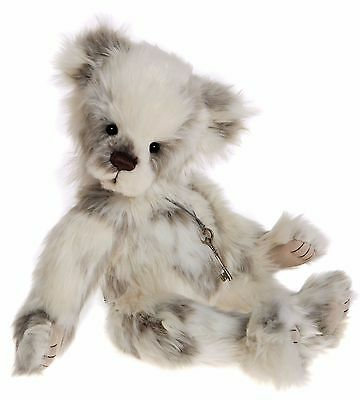 New **COLLECTABLE HANDMADE FULLY JOINTED CHARLIE BEAR ~ MARSHMALLOW** 44cm