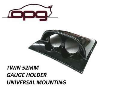 Gauge Dash Pod Holder Multi Fit 4Wd Mount Takes 52Mm Gauges - Black
