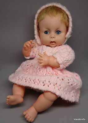 Chiltern Babykins Baby Doll 1960s Vinyl Jointed 14in Sleepy Eyes UK Knit Outfit