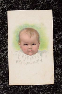 Baby Children's Shoes Victorian Trade Card L S Plaut & Co Newark NJ The Bee Hive