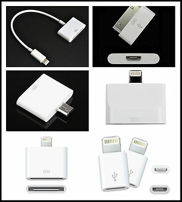 Lightning USB Converter Adapter For Apple iPhone 4 5 6 iPod Samsung Android