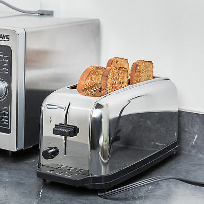 WARING COMMERCIAL WCT704 4-Slice Light Duty Toaster
