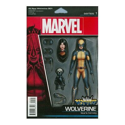 All-New Wolverine #1 Action Figure Variant Comic Book