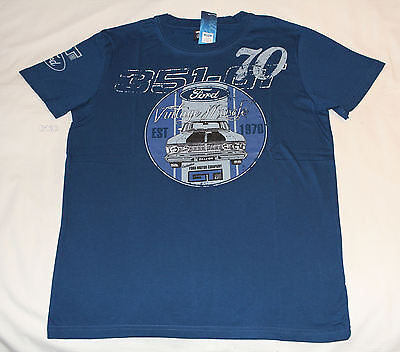 Ford Falcon XY GT Mens Vintage Muscle Printed Short Sleeve T Shirt Size S New