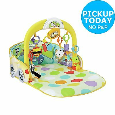 Fisher-Price 3-in-1 Convertible Car Gym Playset -From the Argos Shop on ebay