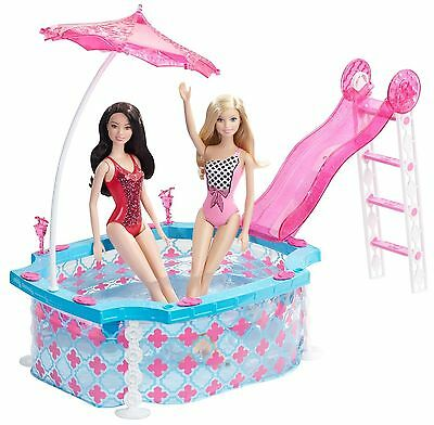 Barbie Glam Pool Playset for Barbie dolls New