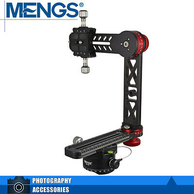 MENGS PH-720A 720° Panoramic Ball Head Kit For All DSLR Cameras