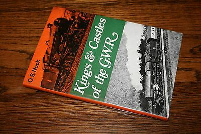 Kings & Castles of the GWR O.S.Nock Ian Allan railway locomotive book