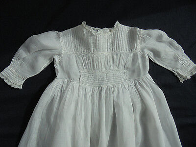 "Victorian Christening Gown - Handmade - 41"" long"