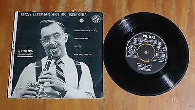 """'Benny Goodman and His Orchestra' 7"""" 7 inch vinyl single EP Philips BBE 12048"""