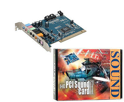 BRAND NEW 8 Channel Internal PCI Sound Card with SPDIF 7.1 Channel Audio UK POST