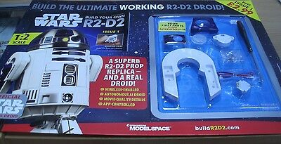 Star Wars Build the Ultimate Working R2-D2 Droid Model Magazine Partwork #1