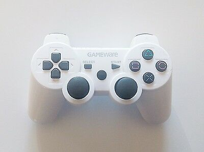 Controller / Mando Inalámbrico Gameware Blanco para Playstation 3 (PS3)