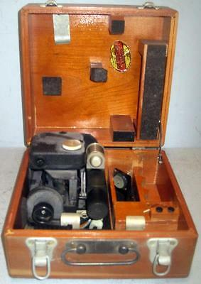 Us Army Air Forces A-10A Sextant In Wood Box