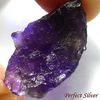 14.7 ct. Unheated 100% Natural Mined Rough Amethyst @ Free ship