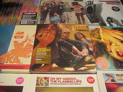 Flaming Lips Heady Nuggs Box Sets + Colored Vinyl Collection 14 Titles 29 Lps