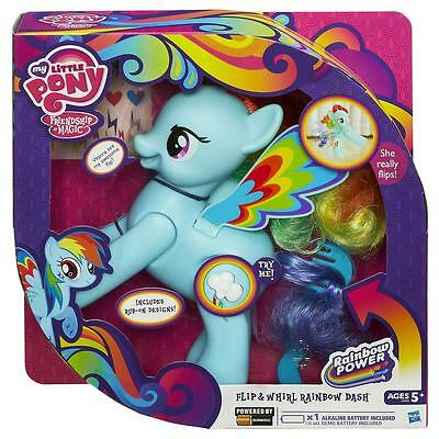 My Little Pony Flip and Whirl Rainbow Dash + Decorations & Comb