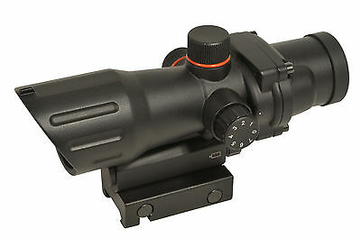 """Lunette Visee Acog 1X32 Point Rouge Red Dot Swiss Arms Airsoft """"neuf"""" 263938"""