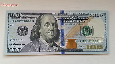Lucky Rare*serial Number Solid 3888 $100 One Hundred Dollar Bill Unc-