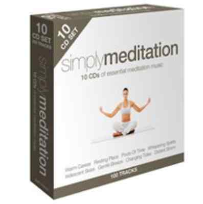Various Artists-Simply Meditation  CD / Box Set NEW