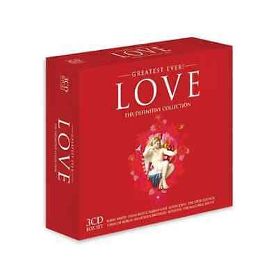 Various Artists-Greatest Ever! Love - The Definitive Collection  CD NEW