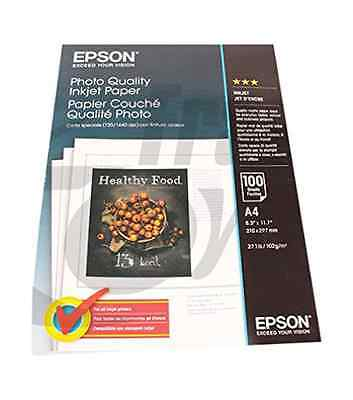 Epson Photo Quality Ink Jet A4 paper (UK IMPORT)  AC NEW