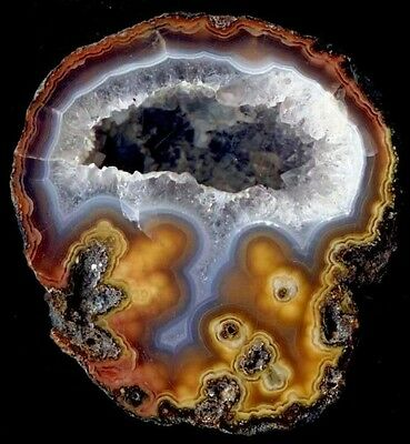 Achat/Agate von Rancho Coyamito in Chihuahua in Mexiko - TOP Pseudomorphose !!!