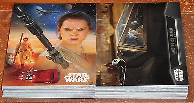 Star Wars Force Awakens Series 1 ~ INSERT CARD LOT (57 cards total, no dupes)
