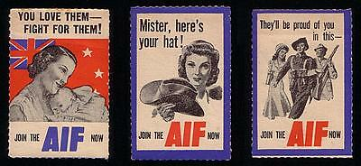 Ca 1939 Australia Australian Imperial Force Wwii Labels Tags Military Army Aif
