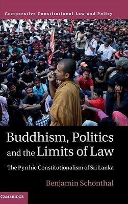 Buddhism Politics & The Limits Of Law, Schonthal, Benjamin, 9781107152236