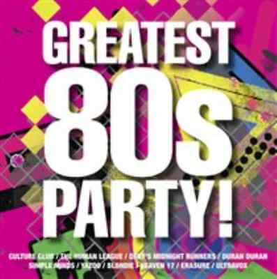 Various Artists-Greatest 80s Party!  CD NEW