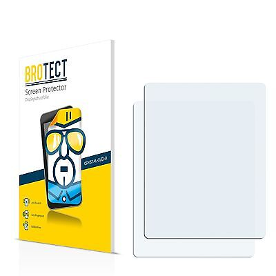 2x BROTECT Screen Protector for Microsoft Zune 120 Protection Film